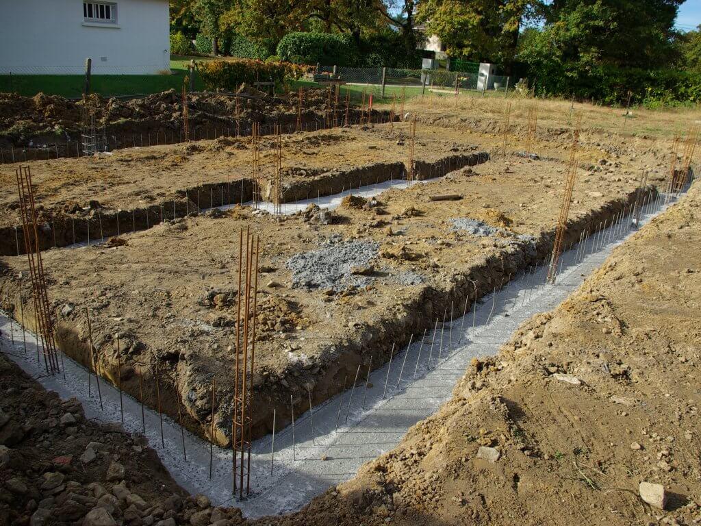 Construction de maison individuelle contemporaine