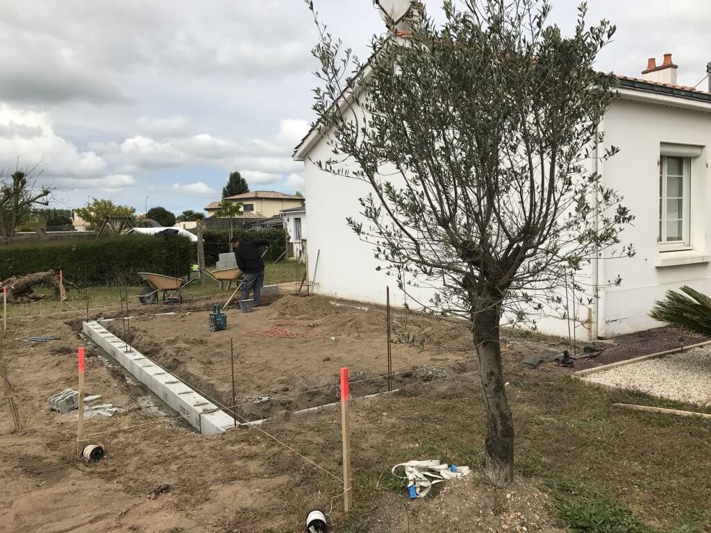 Extension d'une maison d'habitation